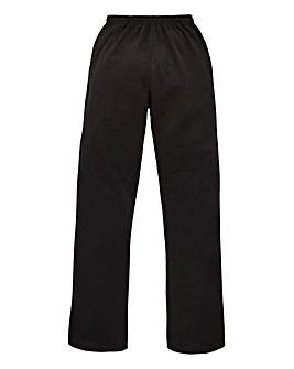Capsule Black Straight Jog Pants 29in