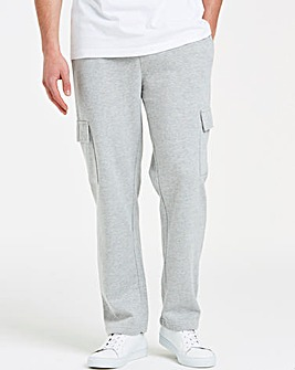 Grey Cargo Trousers 31in