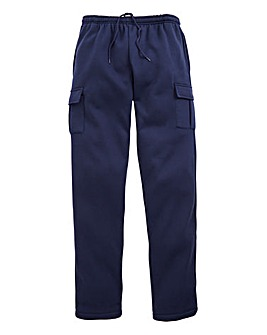 Capsule Navy Cargo Trousers 29in