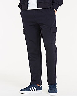Navy Cargo Trousers 29 Inch