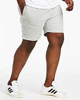 Grey Leisure Cargo Shorts