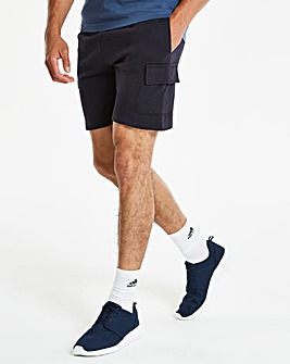 Navy Leisure Cargo Shorts