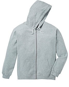 Capsule Grey Full Zip Hoody R