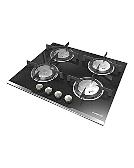 Hoover HGV64SXVB Built-in Gas Hob