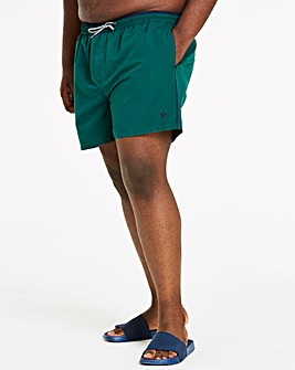 Forestgreen Taped Swimshorts