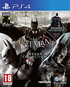 Batman Arkham Collection Steelbook PS4