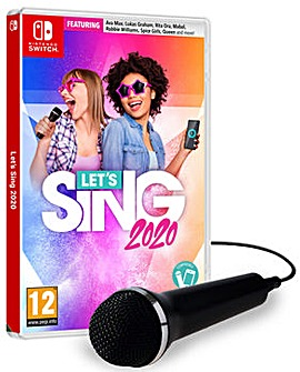 Lets Sing 2020 Including 1 Microphone