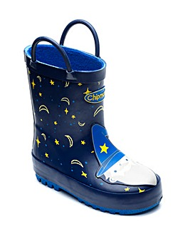 Chipmunks Merlin Wellingtons