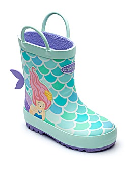 Chipmunks Mermaid Wellingtons