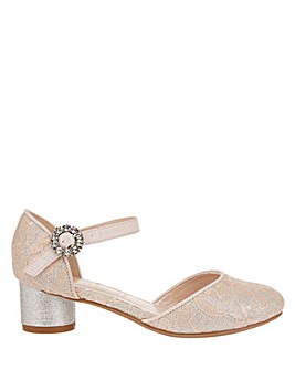 Monsoon Tabitha Lace Two Part Shoe
