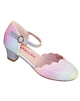 Sparkle Club Pastel Glitter Heeled Shoes