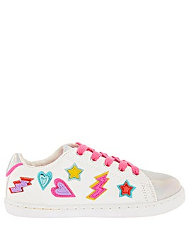 Accessorize Super Hero Applique Trainer