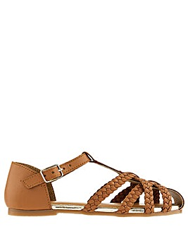 Monsoon Luciana Caged Leather Sandal