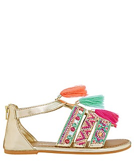 Monsoon Lana Tassel Bright Sandal