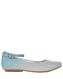 Monsoon Alexa Blue Ombre Ballerina