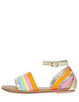 Accessorize Rainbow Sandal