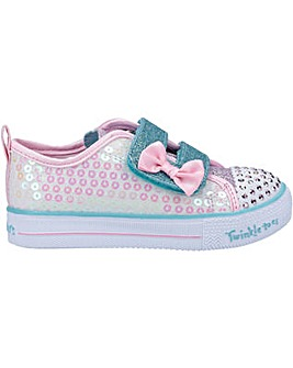 Skechers Shuffle Lite Mini Mermaid Shoe