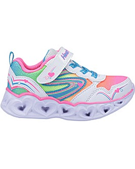 Skechers S Lights Heart Spark Trainer
