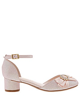 Monsoon Emmeline Diamante Bow Shoe