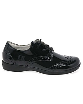 Lelli Kelly Beverley Lace School Shoes