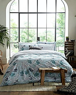 Fat Face Oriental Crane & Palm Duvet Set