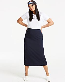 Tailored Maxi Pencil Skirt