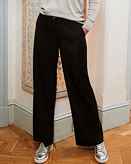 Wide Leg Tailored Trouser Long