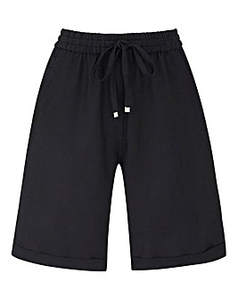 Essential Easy Care Linen Mix Shorts