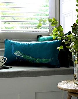 Sophie Allport Peacock Cushion