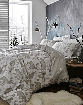 Winter Animals Duvet Cover Set