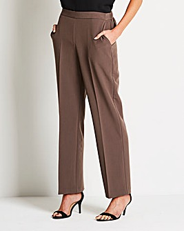 Smart Straight Leg Trousers Regular