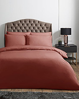 200 Thread Count Plain Dyed Percale Duvet Cover