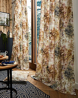 Prestigious Textiles Woodland Lined Pencil Pleat Curtains