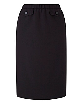 Petite Black Magisculpt Pencil Skirt