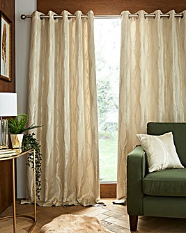 Chicago Thermal Lined Eyelet Curtains