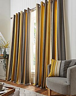 Whitworth Stripe Eyelet Curtains