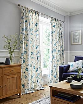 Harriet Pencil Pleat Curtains