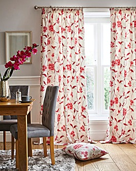Harriet Pencil Pleat Curtains