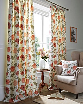 Felicity Lined Pencil Pleat Curtains