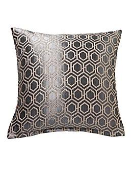 Ezra Jacquard Filled Cushion