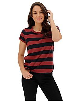 Henna Block Stripe T-Shirt