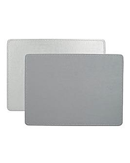 Creative Tops 4 Premium Faux Leather Placemats
