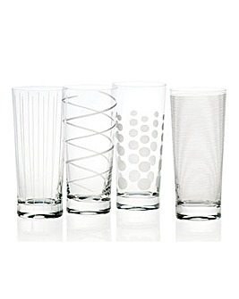 Mikasa Cheers High Ball Glasses