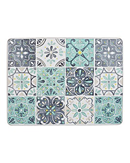 Creative Tops Green Tile 6 Standard Placemats
