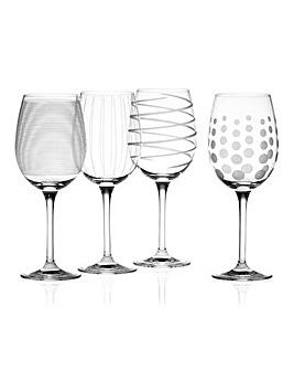 Mikasa Cheers White Wine Glasses