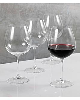 Mikasa Julie Set of 4 Red Wine Glasses