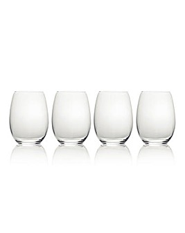 Mikasa Julie Stemless Wine Glasses