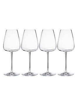 Talismano White Wine Glasses Set of Four