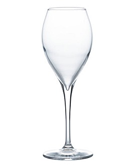 Sphere Set of 4 White Wine Glasses