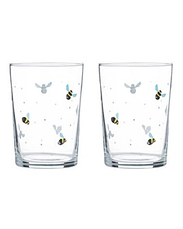 Sweet Bee Set of 4 Tumblers